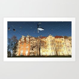 Reflector Swan III - Inverse Art Print