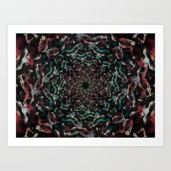 Black Abyss  Art Print