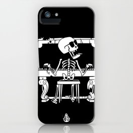 Piano ray iPhone Case