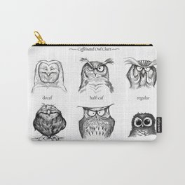 Caffeinated Owls Carry-All Pouch