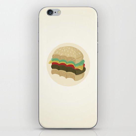 Totally a Burger iPhone & iPod Skin