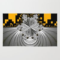 pixel art Area & Throw Rugs featuring Pixel ART by LoRo  Art & Pictures