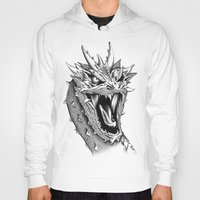 smaug Hoodies featuring Dragon Smaug by BeggaIng