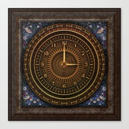Clock Time Canvas Print