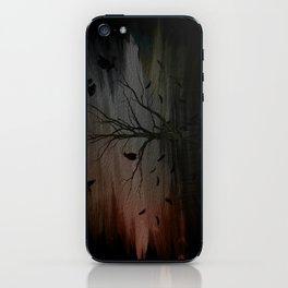raven eyes iPhone Skin