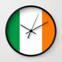 Irish national flag Wall Clock