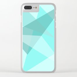 Triangles No15 Clear iPhone Case