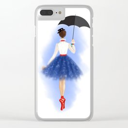 Dancing with Mary Clear iPhone Case