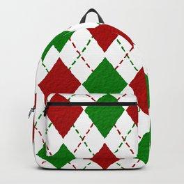 Xmas Stitching Pattern Backpack