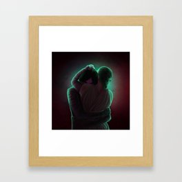Reylo - Embrace Framed Art Print