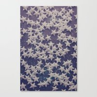 starry night Canvas Prints featuring Starry Starry Night (1) by Karin Elizabeth