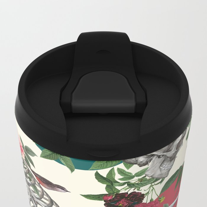 Romantic Halloween Metal Travel Mug