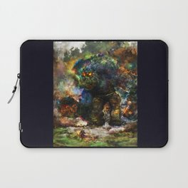 shadow of the witcher Laptop Sleeve