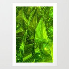 WADA fractal -3- Art Print