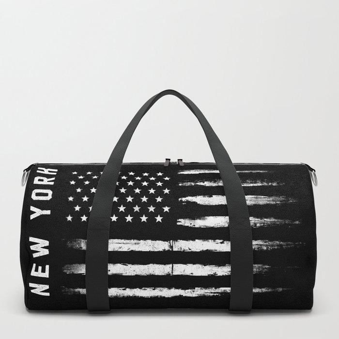 New York White Flag Duffle Bag