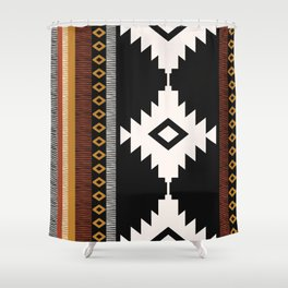 Pueblo in Sienna Shower Curtain