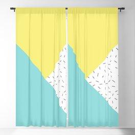 Geometry love Blackout Curtain