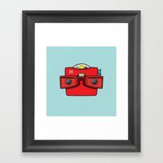 #42 Viewmaster Framed Art Print
