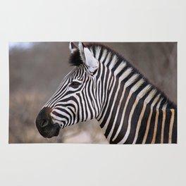 The Zebra - Africa wildlife Rug
