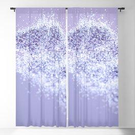 Sparkling Violet Glitter #1 #sparkling #decor #art #society6 Blackout Curtain