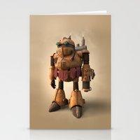 prometheus Stationery Cards featuring Prometheus | Chrono Trigger by Geison Araujo