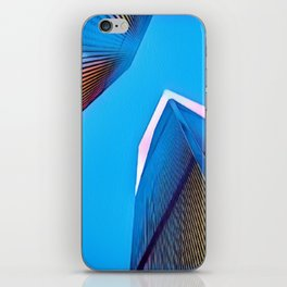 Twin Towers - 9/07/01 - Graphic 5 iPhone Skin