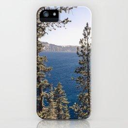 Hidden Lake Love - Nature Photography iPhone Case