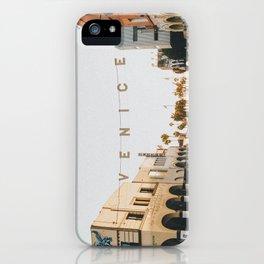 venice / los angeles, california iPhone Case
