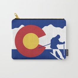 Colorado Skier Carry-All Pouch