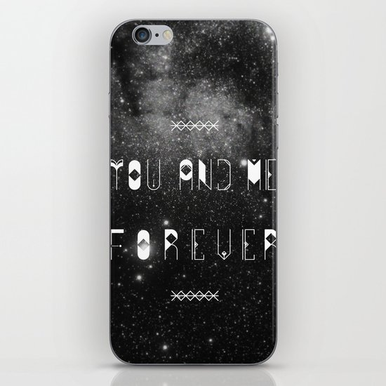 You and Me Forever iPhone & iPod Skin