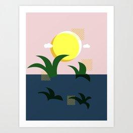 A Beautiful Morning Art Print