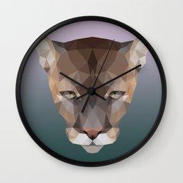 Polygon Puma Wall Clock