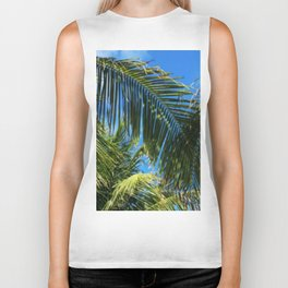Palm Leaves / Tall Dreams Biker Tank
