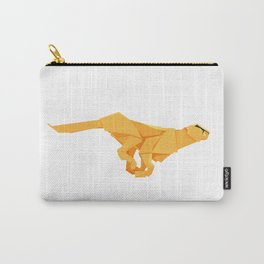 Origami Cheetah Carry-All Pouch
