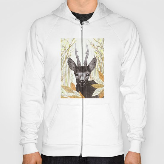 among the leaves (morning) Hoody