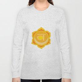 Sacral Chakra Svadhishthana Chakra Long Sleeve T-shirt