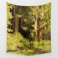 Woodland Landscape Nature Art Wall Tapestry