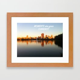 Currency City Framed Art Print
