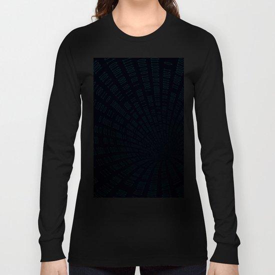 Data stream Long Sleeve T-shirt
