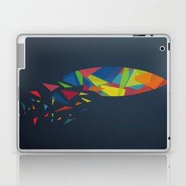 Surfboard abstract triangle Laptop & iPad Skin