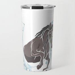 Horse horses gift pony mare stallion riding Travel Mug