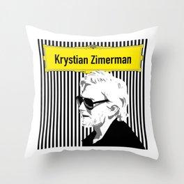 Krystian Zimerman Throw Pillow