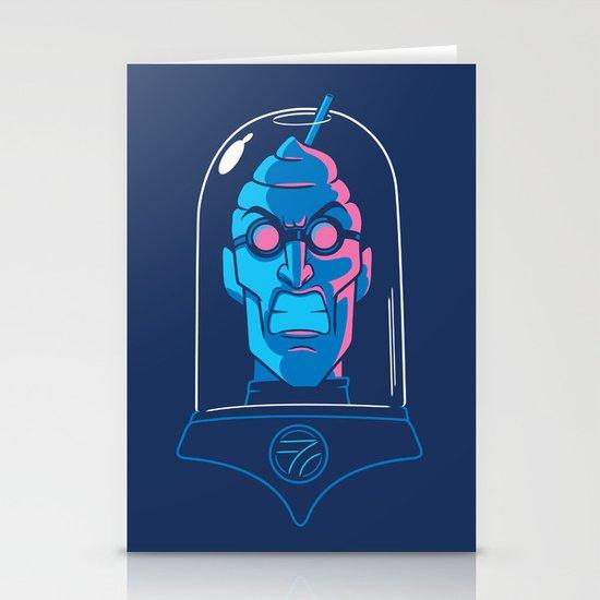 Mr. Brain Freeze Stationery Cards