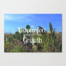 Comfortable Cactus  Canvas Print