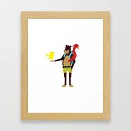 Banjo Kazooie Framed Art Print