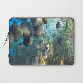 Stream of Tranquility Laptop Sleeve