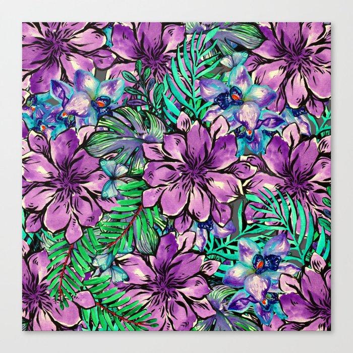 My Tropical Garden 4 Canvas Print