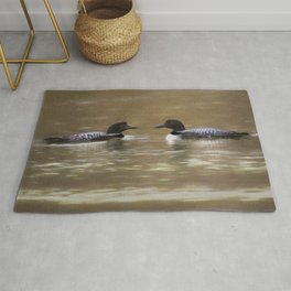 Passing Loons Rug
