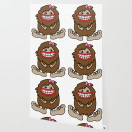 Cute Bigfoot Wallpaper