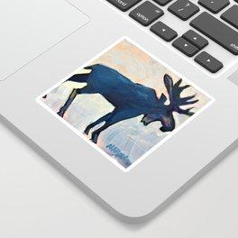 Appreciation - Moose Sticker